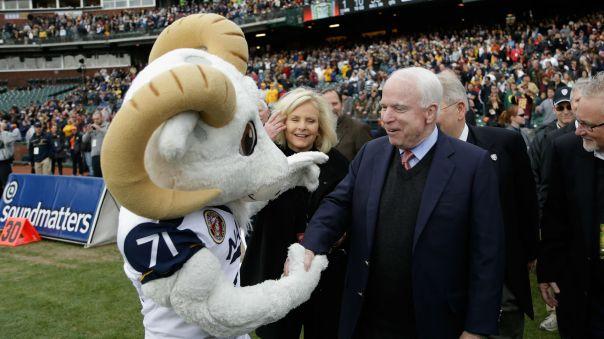 McCain bet