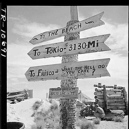 Tarawa sign