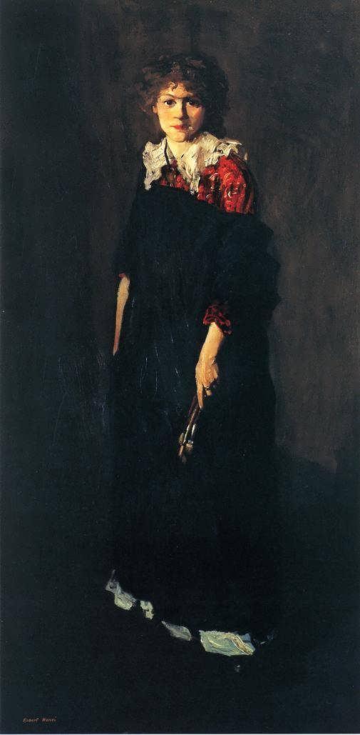 Jo Hopper by Robert Henri