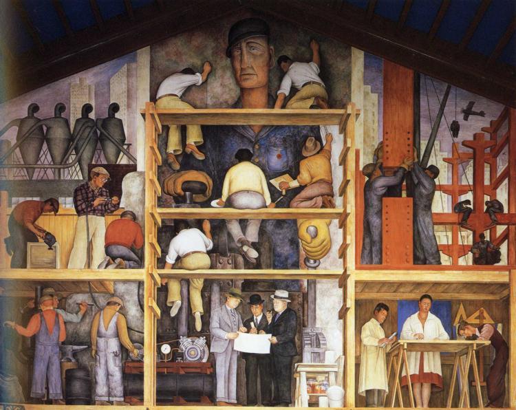 making of a fresco