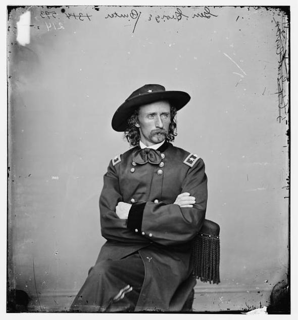 custer national archives